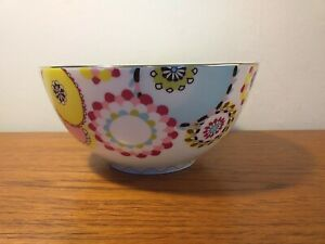 MISSONI HOME CERAMIC FLOWERED BOWL