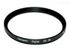 Heliopan UV Filter ES 58mm x 0,75 vergütet Slim - Made in Germany (NEU/OVP)