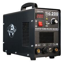 Appareil de soudage TIG/wig + MMA 200 Inverter HF-Allumage + Masque de soudure + accessoires