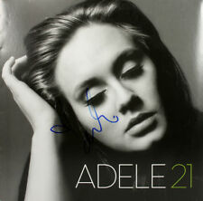 Adele Authentic Signed 21 Album Cover w/ Vinyl Autographed BAS #A02104