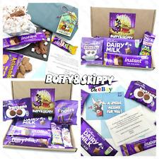 Cadbury Dairy Milk Chocolate Sweet Hamper Gift Box Present Personalised Birthday