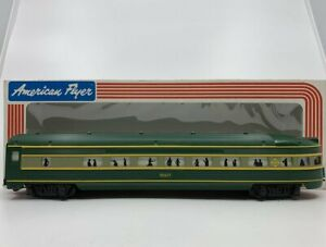 American Flyer 4-9507 S Scale Erie Observation car LN/Box