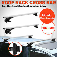 Universal Car Roof Rack Cross Bars Top Luggage Cargo Adjusted Carrier Rails 1370mm Length