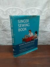 SINGER SEWING BOOK by Mary Brooks Picken VINTAGE 1954 3rd Edition DJ Hardcover