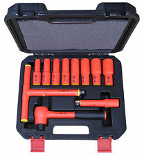 Insulated Socket Set 1000V VDE  Approved Electricians Tools Made in Taiwan