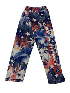 Marvel Captain America by Her Universe Size M Cropped BE A HERO Leggings