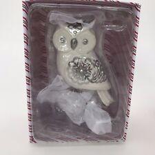Hallmark 2017 Snowy Owl Premium Beauty of the Birds Ornament Limited Edition New
