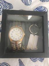 Benrus Watch & Key Chain Set