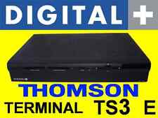 DECO de DIGITAL PLUS THOMSON TERMINAL TS3 E decodificador descodificador CANAL +