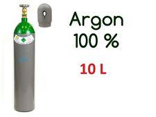 NEW 100% Argon 4.8 Gas FULL Bottle Cylinder 10 Liter 200 Bar Pure Gas Welding