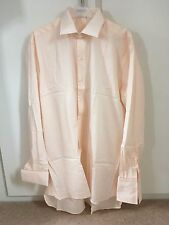 Pale Pink/Peach men's long sleeved shirt - Size 161/2 - Brand New