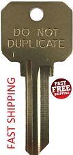 KWIKSET KW1 DND DO NOT DUPLICATE 5-PIN Key Blanks - 50 Keys