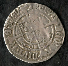 Henry VII Half Groat Profile Issue S2262 York Mint Archbishop Bainbridge