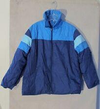 Z8193 Men's Fingerhut Fashions Blue Full Zip Jacket-XL