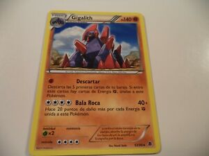 (BTW) POKEMON CARD GIGALITH 53/98* LIIGHTLY PLAYED IN GOOD CONDITION