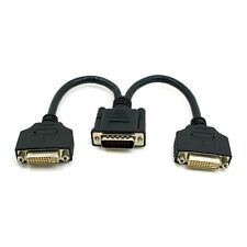 DMS-59  to Dual DVI 24+5 Female Female Splitter Extension Cable for Monitor