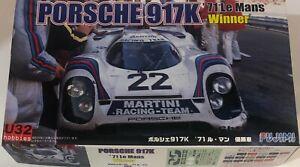 Fujimi 126142 N Gauge Building Kit 1/24 Porsche 917K Winner le Mans 1971