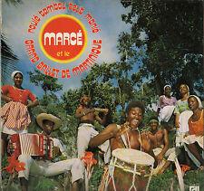 "MARCE ""ROULE TAMBOU TOUT MANIE"" BIGUINE AFRO PERCUSSIONS LP DEESSE 213"
