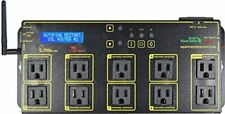 DIGITAL WiFi WEB POWER SWITCH WLCD SCREEN 10 OUTLETS / LPC7-PRO