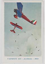 ITALIA AVIAZIONE  FASCISMO PROPAGANDA CAPRONI 113 - ACROBAZIA - 1932