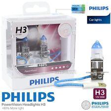 New Pair Genuine PHILIPS H3 Power Vision Halogen Bulb 12V 55W Car Light Bulb