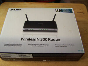 D-Link DIR-615 Wireless-N 300 Wifi Router 4 Port 10/100 Networking N300 unit
