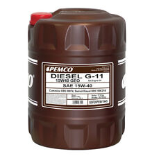 Aceite Motor Camion Autobus 15W40 G11 SPHD GEO Universal Lubricante camiones 20L