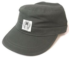 RVCA Shield Military Strap Back Peaked Cap. One Size. NWOT, RRP $39.99