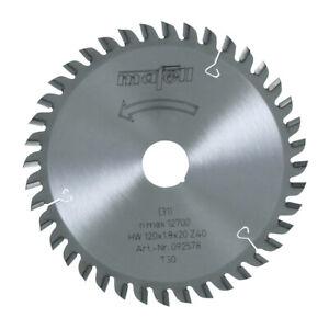 Lama Mafell per sega KSS300 KSS40 120x1,2 1,8x20 mm, 40Z TR 092578