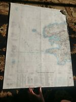 22x29 1978 Joint Operations Graphic (Ground) of Brest, France Map Cháteaulin