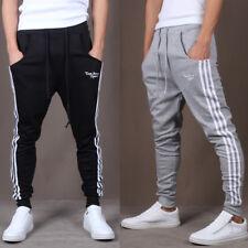 Hommes Gym Slim Fit Pantalon Pantalon Survêtement Skinny Sportswear Bas