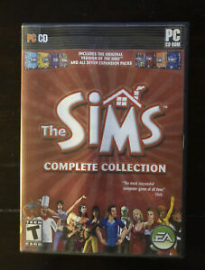 Sims: Complete Collection (PC Game Windows, 2005) Manual All Four Discs