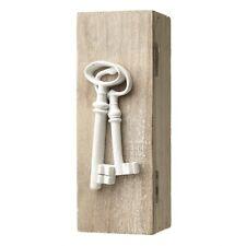 Shabby Wooden Chic Key Box White Key Holder Keys