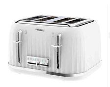Breville VTT470 Impressions 4 Slice Slot Toaster White