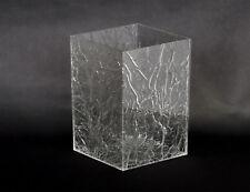 """Portaombrelli mini in plexiglass trasparente """"ghiacciato"""" - Made in Italy"""