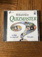 Britannica Quizmaster PC Cd