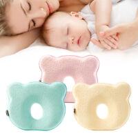 Oreiller doux lit bébé empêchent soutien sommeil coussin mousse mémoire PS