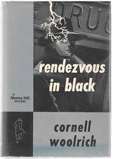 Rendezvous in Black by Cornell Woolrich 1st w/DJ