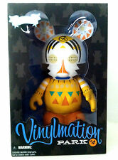 "DISNEY VINYLMATION 9"" PARK 4 FESTIVAL OF THE LION KING 2010 MICKEY MOUSE FIGURE"