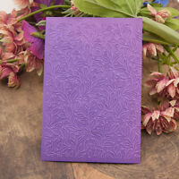 leaf Embossing folders Plastic Embossing Folder For Scrapbooking DIY card ZL
