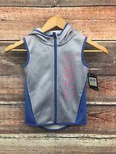 Under Armour Zip Vest Sleeveless Hoodie 4T Toddler