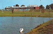Seekonk Massachusetts Hearthstone Motor Inn Waterfront Vintage Postcard K64315