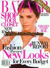Bazaar 1/09,Victoria Beckham,Rihanna,January 2009,NEW