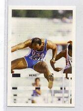 (Jh101-100) RARE,Trade Card Booster of Greg Foster, Hurdler 1986 MINT