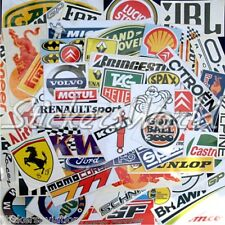25+ Car, Formula 1,WRC F1 Racing Clearance & 2nd Quality Vinyl Stickers, Decals