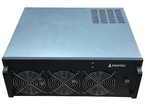 Cryptocurrency Barebones Mining Rig Ethereum Bitcoin, Windows 10 *NO GPUs or PSU