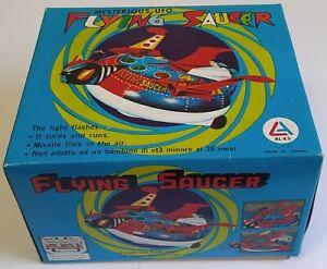 Mysterious UFO Flying Saucers Goldrake Grendizer Tin Al-Es
