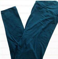L/XL Lularoe Kids Leggings Solid Dark Teal Blue NWT 426446