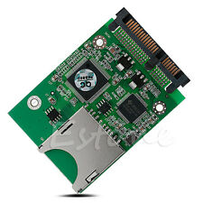 Digital MMC SD SDHC Secure to SATA Converter Adapter for Windows Linux Mac OS