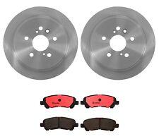 Brembo Rear Brake Kit Ceramic Pads Coat Disc Rotors for Toyota Highlander 08-13